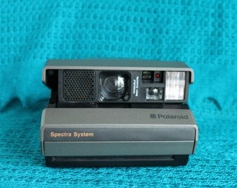 Working Polaroid Spectra System camera-Film Tested