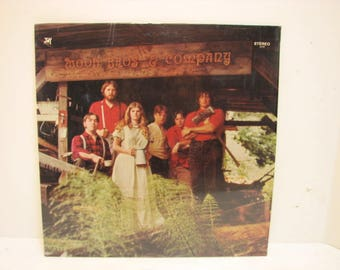 Vintage Vinyl LP Wood Bros. & Compnay on Joy Private Xian Folk Psych Record in Shrink NW Northwest Seattle