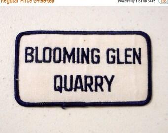 Blooming Glen Quarry Uniform Patch Pennsylvania Blue White PA