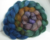 Sale BFL/Bombyx 75/25 Roving Combed Top - 5oz - Stranglethorn 1