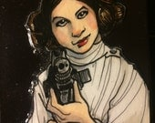 CLEARANCE-Princess Leia-Original Art