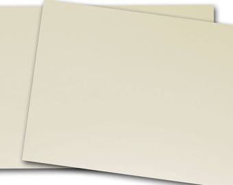 Neenah Classic CREST 130lb NATURAL WHITE Card Stock 8.5x11 - 25 sheets