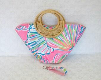 Preppy Pink Lilly Shellabrate Handbag Tote