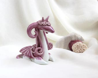 Pink Magical Dragon - Hand Made Ceramic Eco-Friendly Home Decor by studio Vishnya