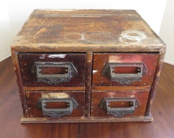 Vintage/Antique Four Draw