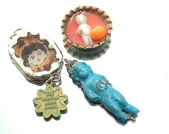 Studio Sale Lot Resim Frozen Charlotte Pendants Charms All for One Price