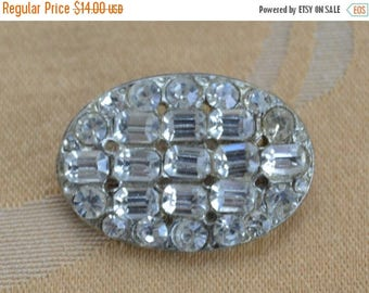On sale Pretty Vintage Rhinestone, Faux Pearl Buttons, Silver tone, Gold tone, Supplies, Crafts, Destash (L5)