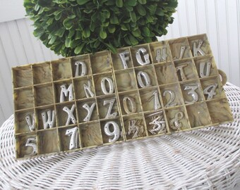 Vintage Letters and Numbers * House * Mailbox * Craft * 100+