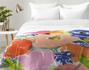 Floral Frenzy Comforter
