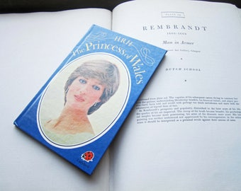 Vintage Book, Lady Diana, The Princess of Wales, LadyBird LTD Books, 1982 1st Edition, Made in England, Colour Photo's, Royal Family, Gifts