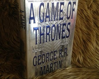 A Game of Thrones True First Edition 1996 Bantam G. R. R. Martin Hardcover A Song of Ice And Fire Free US Shipping