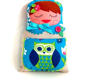 tooth fairy pillow russian doll babuska