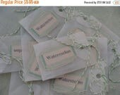 ONSALE Adorable 1940s Dennison unused Canning Jar Gummed Labels Last one of this group