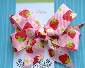 Strawberry Fields Classic Diva Bow