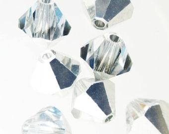 CRYSTAL CAL 6mm Bicone Swarovski Crystals from Austria Style 5301 || sku 5301.6.016