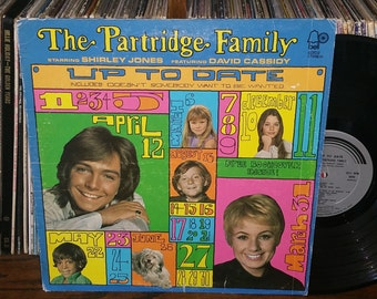 The Partridge Family Up To Date Vintage Vinyl Record