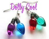 Stranger Things Earrings Christmas Light Bulbs by Dolly Cool Holidays