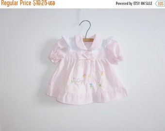 SALE // Vintage New Old Stock Baby Dress