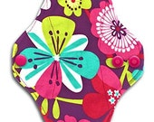"Grab Bag 3-Pack! 8"" IncrediPad Multi-Flow Reusable Cloth Pad Set of 3 ~ Surprise Fabrics, Colors and Patterns Will Vary ~ by Talulah Bean"