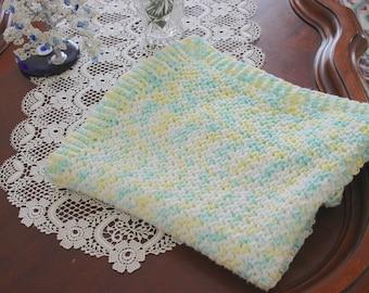 Handmade Crochet Newborn Unisex Crib Size Baby Blanket, Photography Props Blanket, Baby Wrap Blanket, Baby shower Gift, Baby Carrier Blanket