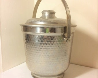 Large Vintage Ice Bucket Made in Italy