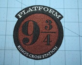 Harry Potter Platform  iron on patch