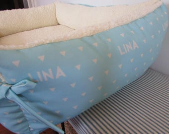 Cushion/ Dog Bed Made with Personalized Fabric/ Custom Fabric