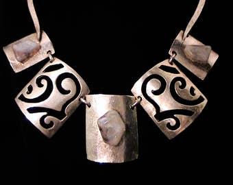 Vintage DELPHINE NARDIN Runway Necklace