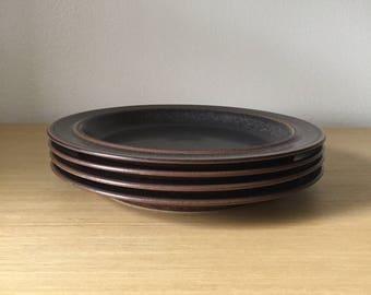arabia finland ruska dinner plates