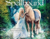Spellbound 2017 Art Wall Calendar, Ginger Kelly Studio | Fantasy Art Calendar 12 inch | Australia Shipping Only