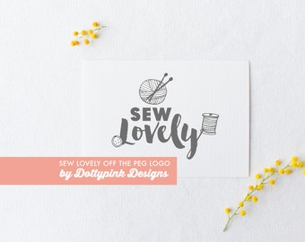Premade Sewing Logo Design