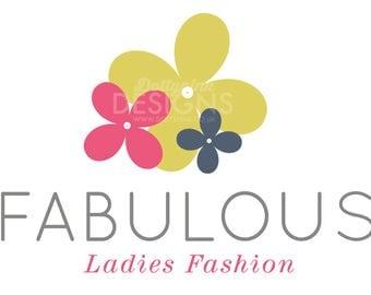 Premade Shop Fabulous Fashion Logo Design