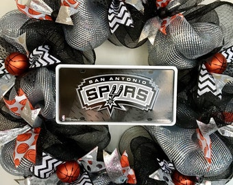 San Antonio Spurs Basketball NBA Wreath
