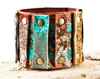 Leather Jewelry Bracelet Wristband Cuffs For Women