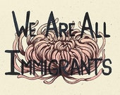 We Are All Immigrants postcard *Download*