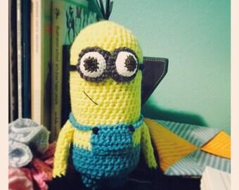 Crocheted Minion Doll