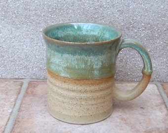 Coffee mug tea cup in stoneware hand thrown stoneware ceramic pottery handmade wheelthrown