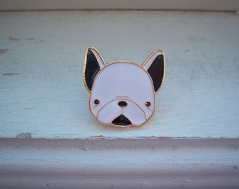 Dog Pin - French Bulldog Pin -