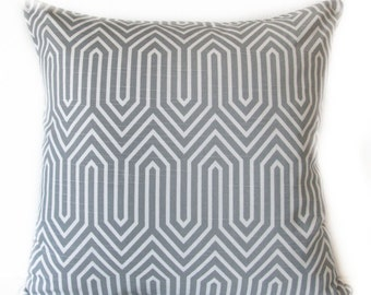 Pillow Cover - Grey - White - Trail Ash Grey - Decorative - Cushion Cover