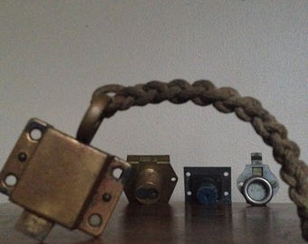 Holiday Sale. Collection of Latches and Locks. Steampunk, Industrial Supplies.