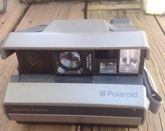 SPRING SALE Vintage Polaroid Spectra System instant camera. Vintage camera, vintage photography, vintage photographer.