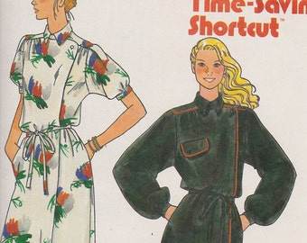 6671 Butterick Dress size 8 Vintage Original FF