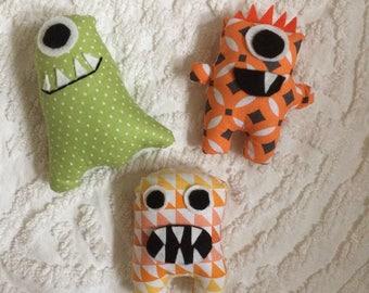 Mini Monster plushies