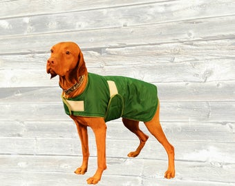 Dog Raincoat, Custom made for your dog