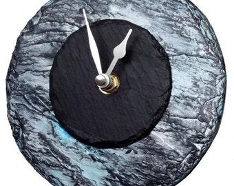 Ocean Wave slate clock
