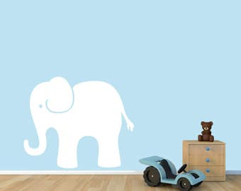 Elephant - Animals Nursery Kids Room Wall Decals