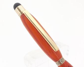Wood Pen, Handmade Wood Pen, African Padauk Wood