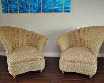 Channel Back Chairs Etsy