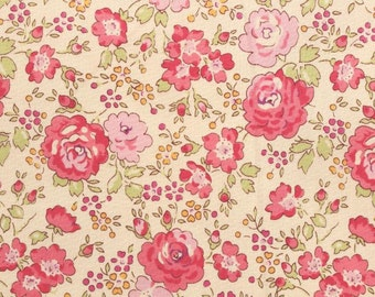 Liberty tana lawn printed in Japan - Felicite - Rose pink mix