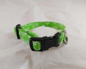 Flower Dog Collar, Flower Cat Collar, Spring Dog Collar, Girl Dog Collar, Spring Cat Collar